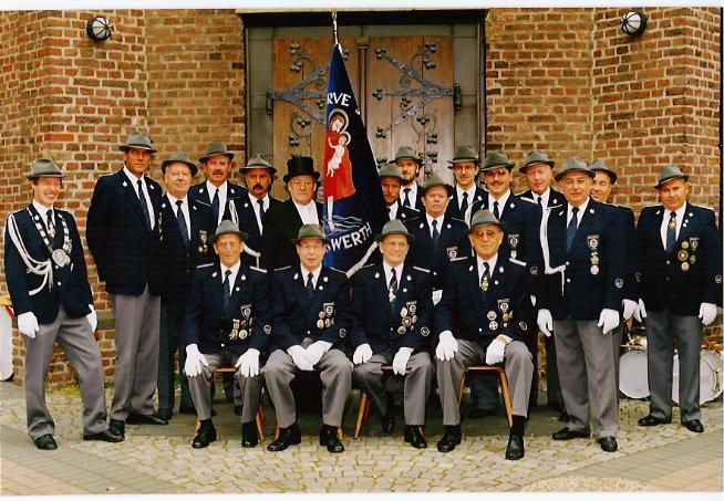 Fahnenweihe 1991